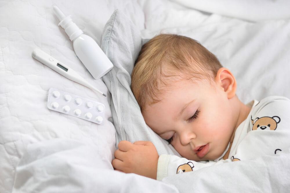 嬰兒感冒症狀