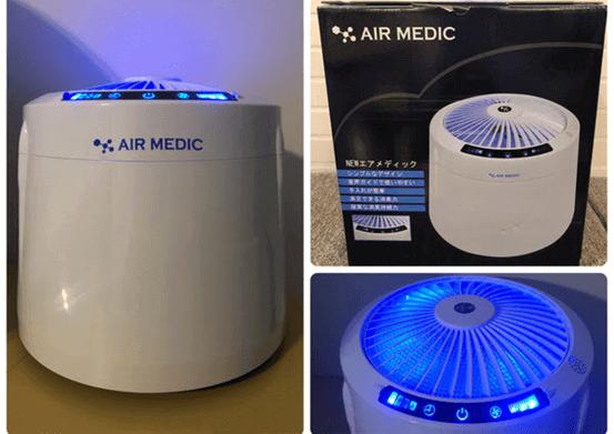 抗菌除臭好物 | AIRMEDIC 空氣潔淨機 @ 小飛媽的異想世界
