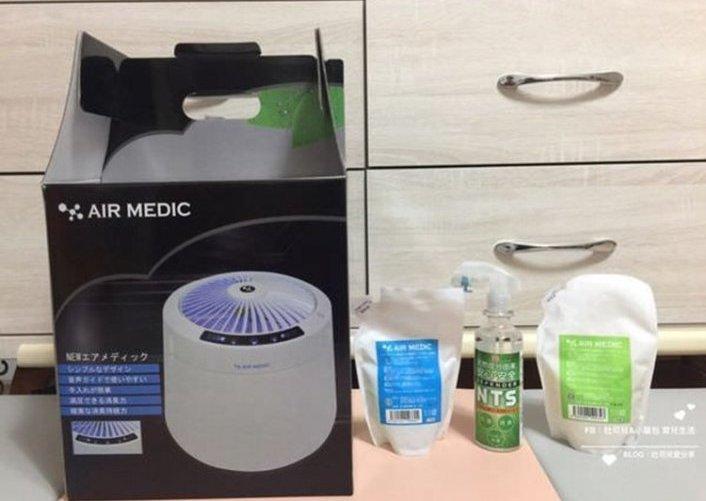 日本AIR MEDIC空間潔浄器&專用濃縮液&NTS天然抗菌除臭達人